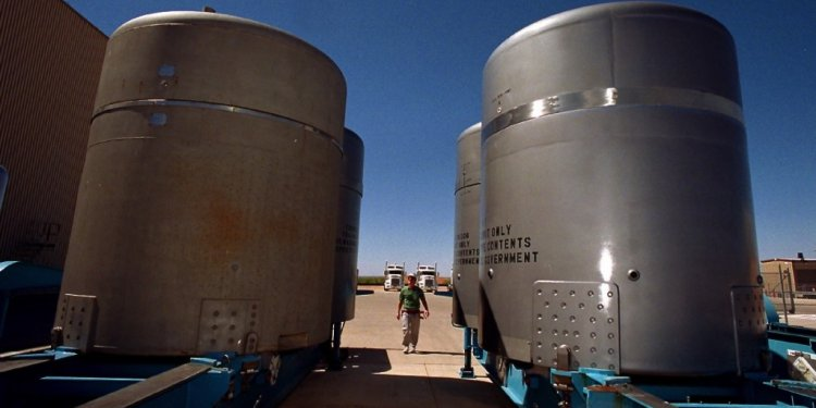 A Salty Solution for Nuclear Waste — NOVA Next   PBS