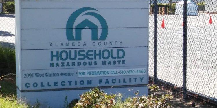 Alameda County Hazardous Waste Facility - Hazardous Waste Disposal