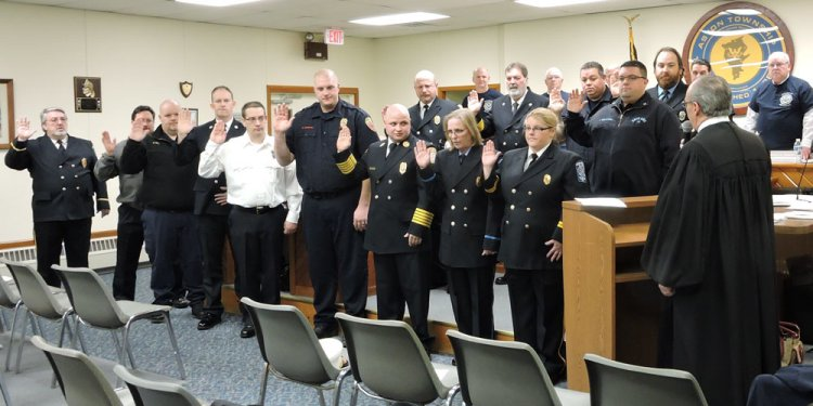 Aston Township Fire Department Recognized at Commissioner s