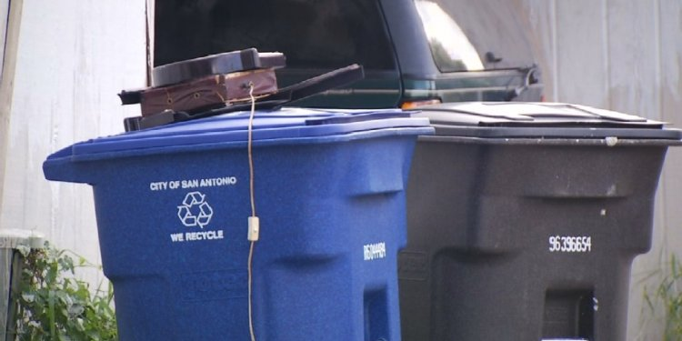 Dumping garbage into recycling bins could result in fines | KABB