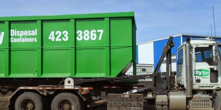 Dumpster Rental Edmonton - City Disposal Containers Inc