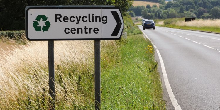 Easter opening times for recycling centres and rubbish tips in and