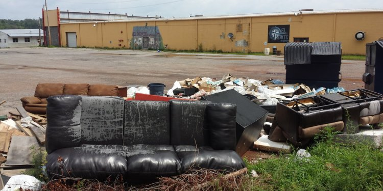 Illegal Dump Site at Green Acres Flea Market — Keep Blount Beautiful