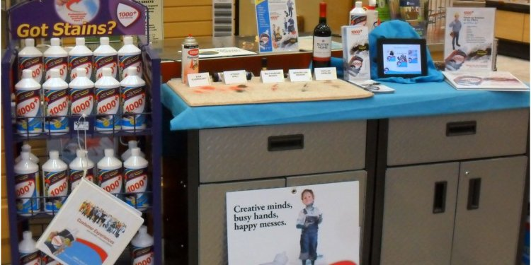 Reach for 1+ Stain Remover at Former RONA Stores Lowe s