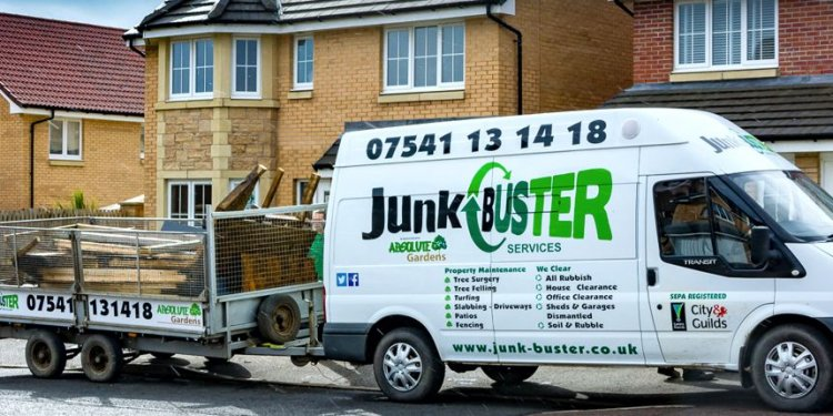 Rubbish Removal Edinburgh, Waste Clearance, JunkBuster Recycling