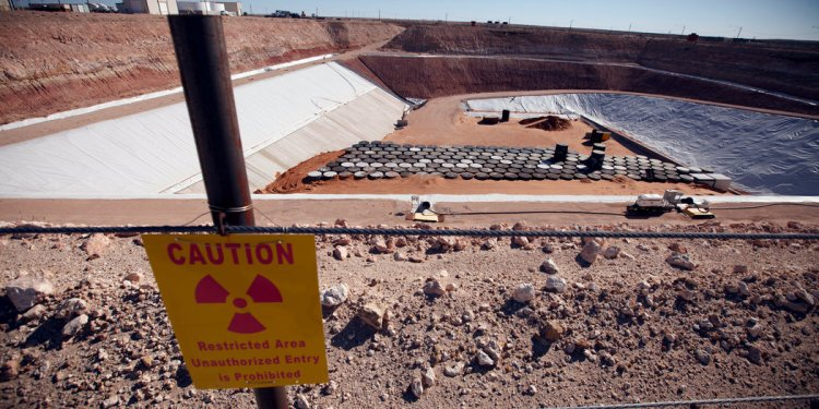 Texas Company, Alone in U.S., Cashes In on Nuclear Waste - The New