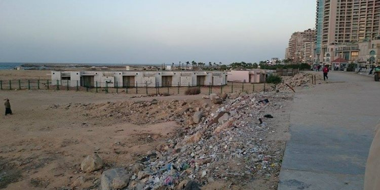 The Fall of Alexandria: Trashed And Neglected   Egyptian Streets