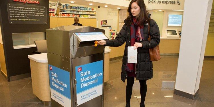 Walgreens Opens Kiosks for Safe Drug Disposal in Illinois