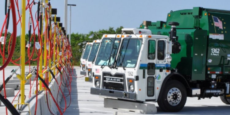 Waste Pro Opens First Garbage Truck Compressed Natural Gas Fueling