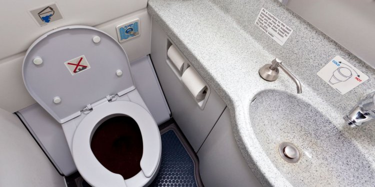 Where does toilet waste go on a plane? This is what happens when