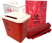 Sharps Containers & Medical Waste Disposal Products