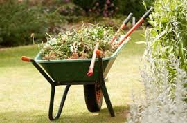 Yard Waste Wheelbarrow